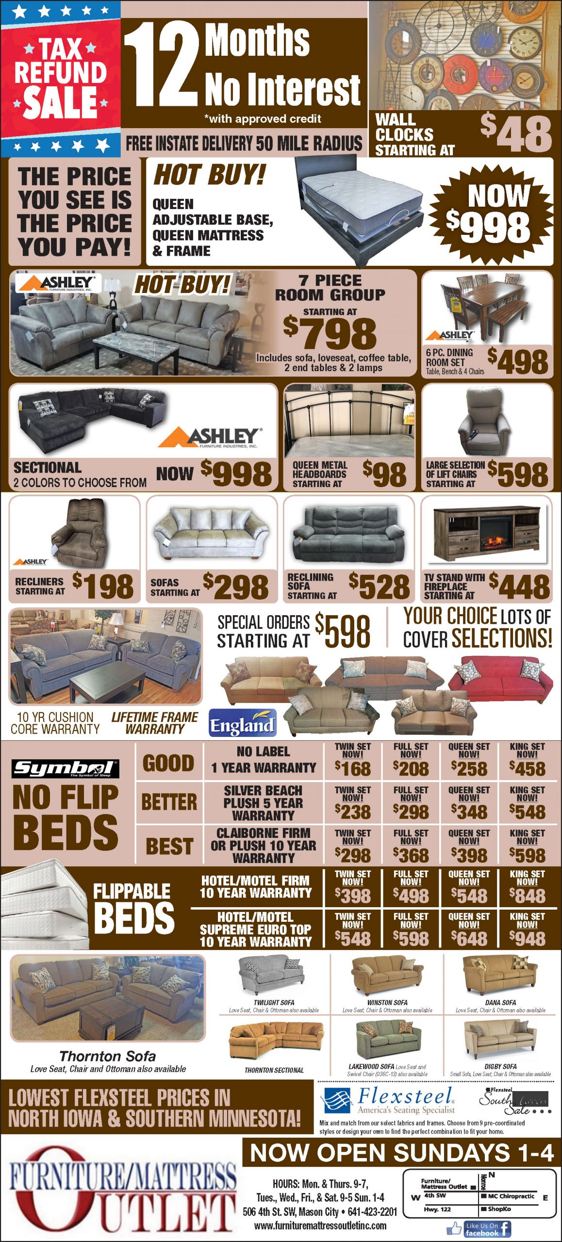 Monthly Sales Ad